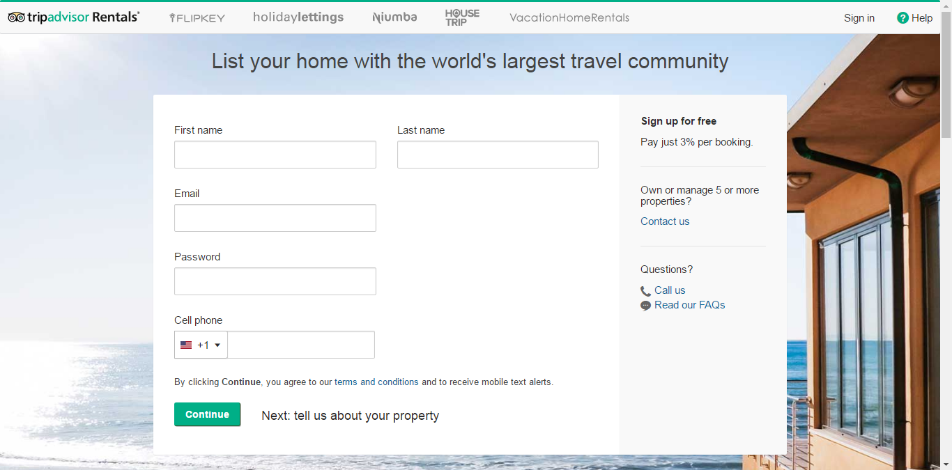 Step-by-step guide by Syncbnb on how to create a listing on TripAdvisor / FlipKey.